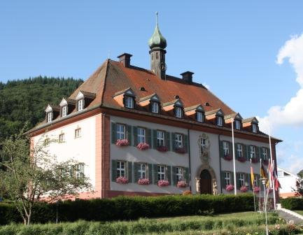 Rathaus Münstertal/Schwarzwald