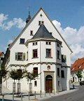 Rathaus Langenau Außenansicht