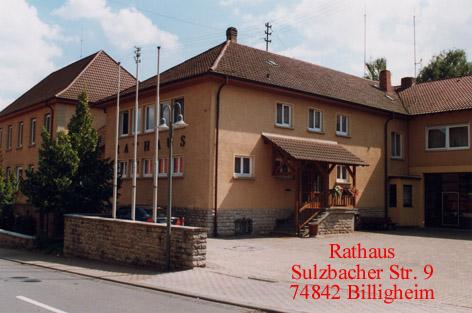 Rathaus Billigheim