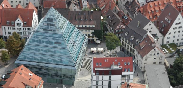 Zentralbibliothek Ulm, Verstgasse 1, 89073 Ulm. Foto: Stadt Ulm