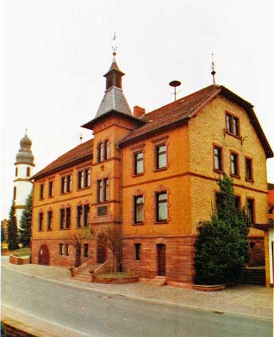 Das Rathaus Schwarzach