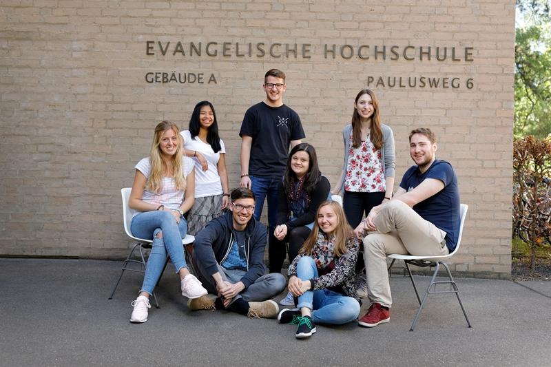 Das Haupgebäude der Evangelischen Hochschule Ludwigsburg, Campus Ludwigsburg. Foto: EH-Archiv/Fuchs