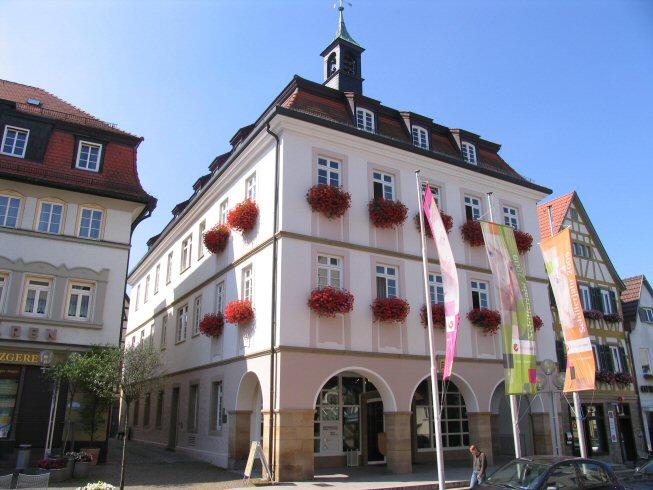 Rathaus Marbach am Neckar